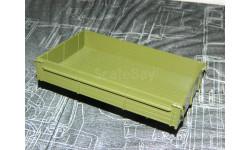 кузов зил-130 (4314, 4333) - хаки 1/43, запчасти для масштабных моделей, Автоистория (АИСТ), scale43