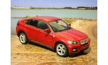 BMW-X6 - без коробки 1:24, масштабная модель, Welly, 1/24