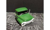 кабина зил-130 - темно-зеленая 1/43, запчасти для масштабных моделей, Автолегенды СССР журнал от DeAgostini, 1:43