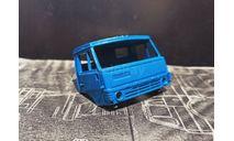 Кабина 4310-4326 - синяя 1/43, запчасти для масштабных моделей, КамАЗ, Элекон, 1:43
