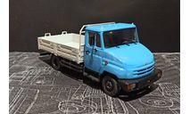 ЗИЛ-5301 рестайл (экспериментальный бампер)  - голубой/серый  1/43, масштабная модель, ALPA models, scale43