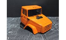 Кабина ЗИЛ-433480 дневная - окрашенная и собранная - оранжевая 1/43, масштабная модель, ALPA models, scale43