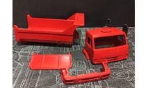 Камаз-65115-6056- комплект для конверсии окрашенный- красный, масштабная модель, Артик, scale43