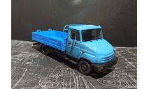 ЗИЛ-5301 рестайл (экспериментальный бампер)  - голубой/синий 1/43, масштабная модель, ALPA models, scale43