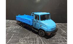 ЗИЛ-5301 рестайл (экспериментальный бампер)  - голубой/синий 1/43