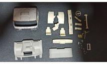 Кабина Миасский грузовик-43206-79 неокрашенная (МЕТАЛЛ!), масштабная модель, УРАЛ, ALPA models, 1:43, 1/43