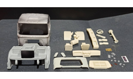 Кабина урал-4320-82М (металл!) 1/43, масштабная модель, ALPA models, scale43