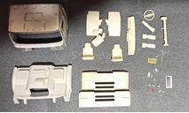 Кабина урал-5323 дневная (металл!) - 1-й рестайлинг 1/43, масштабная модель, ALPA models, 1:43