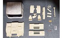Кабина урал-5323 со спальником (металл!) - 1-й рестайлинг 1/43, масштабная модель, ALPA models, 1:43