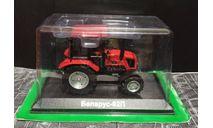 МТЗ-92П 'Беларус' трактор №110 - красный/черный с журналом 1/43, масштабная модель трактора, Тракторы. История, люди, машины. (Hachette collections), scale43