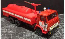 камаз-53213 АЦ пожарный  1/43, масштабная модель, Элекон, scale43
