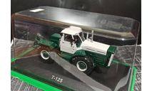 Т-125 трактор - дымчатый/зеленый- №98 с журналом 1:43, масштабная модель, ХТЗ, Тракторы. История, люди, машины. (Hachette collections), scale43