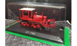 ДТ-75к трактор - красный - №83 с журналом 1:43, масштабная модель, Тракторы. История, люди, машины. (Hachette collections), 1/43