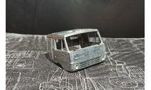 Кабина камаз со спальником - неокрашенная 1/43, запчасти для масштабных моделей, AVD Models, 1:43