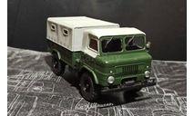 ГАЗ-62 бескапотный - зелёный - Без журнала 1:43, масштабная модель, Автолегенды СССР журнал от DeAgostini, scale43