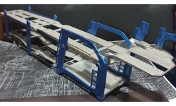 Автовоз - надстройка с полуприцепом  1/43, запчасти для масштабных моделей, New-Ray Toys, scale43