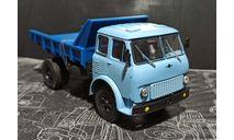 МАЗ-503 самосвал 1963г - голубой/синий 1:43, масштабная модель, Наш Автопром, scale43
