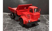 МАЗ-510 самосвал 1962г - красный 1:43, масштабная модель, Наш Автопром, scale43