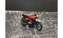 KAWASAKI z-400 fx -мотоцикл- красный 1/43, масштабная модель мотоцикла, UCC, scale43