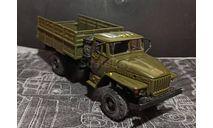 Урал-43206 - хаки - бортовой  1/43, масштабная модель, Элекон, scale43, УралАЗ