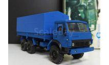 камаз-43105 бортовой с тентом - синий (рекламный)  1/43, масштабная модель, Элекон, scale43