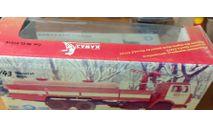 Коробка от камаз-53213 пожарная цистерна, боксы, коробки, стеллажи для моделей, Элекон