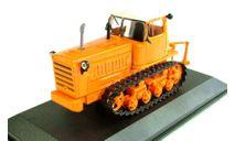 ДТ-75 первого поколения трактор  - оранжевый #12 с журналом  1:43, масштабная модель, Тракторы. История, люди, машины. (Hachette collections), scale43, Кировец