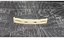 бампер-4320 бескапотный- неокрашенный, масштабная модель, УРАЛ, ALPA models, scale43