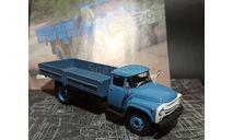 ЗиЛ-130Г бортовой - синий - №52 с журналом 1:43, масштабная модель, Автолегенды СССР журнал от DeAgostini, scale43