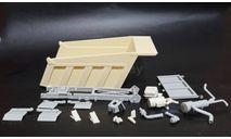 Кузов 65115 - комплект для сборки 1/43, масштабная модель, КамАЗ, ALPA models, 1:43