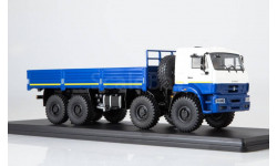 КАМАЗ-6560 (рестайлинг) бортовой - синий/белый 1:43