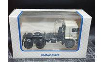 КАМАЗ-65225 (рестайлинг) седельный тягач - белый 1:43, масштабная модель, Автоистория (АИСТ), scale43