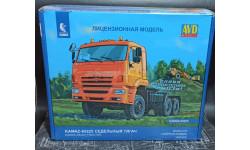 КАМАЗ-65225 рестайлинг седельный тягач - сборная модель 1:43