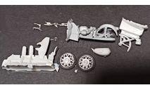 ИМЗ М-63п мотоцикл - патрульный - сборная модель - 1/43, масштабная модель мотоцикла, Юный коллекционер ( +доработка), scale43, УРАЛ
