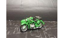 К-650 мотоцикл - зеленый - 1/43, масштабная модель мотоцикла, Юный коллекционер, scale43, Днепр