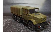 ЗИЛ-4334КО бортовой со спальником - хаки 1/43, масштабная модель, ALPA models, scale43