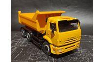 КАМАЗ-65115-6056-78(N3) самосвал - желтый 1:43, масштабная модель, Артик, scale43