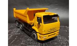 КАМАЗ-65115-6056-78(N3) самосвал - желтый 1:43