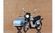 ИЖ Планета-5 с коляской ВМЗ 9.203  - голубой - 1/43, масштабная модель мотоцикла, Моделстрой, scale43