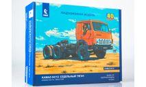 КАМАЗ-54112 седельный тягач - сборная модель 1:43, масштабная модель, AVD Models, 1/43