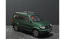 УАЗ-3163 «Patriot» FL- зеленый металлик- №283 с журналом 1:43, масштабная модель, Автолегенды СССР журнал от DeAgostini, scale43