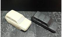 Кузов ваз-2131+ ваз-212180 нива неокрашенный - со стеклами 1/43, масштабная модель, ALPA models, scale43
