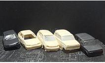 Кузова ваз 5 штук одним лотом - со стеклами 1/43, масштабная модель, ALPA models, scale43