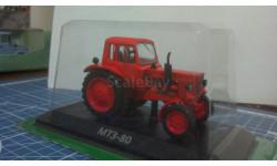 МТЗ-80 трактор с журналом, масштабная модель, Тракторы. История, люди, машины. (Hachette collections), 1:43, 1/43