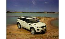 Range Rover Evoque - без коробки 1:24, масштабная модель, Welly, 1/24