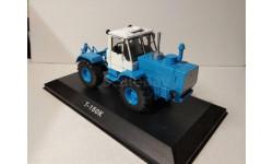 Т-150К трактор колесный - синий/белый - №11 без журнала 1:43