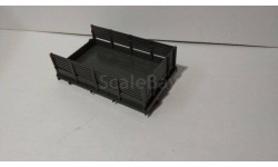 кузов зил-157 серый, запчасти для масштабных моделей, Автоистория (АИСТ), 1:43, 1/43