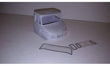 Кабина ЗИЛ-5301 дневная неокрашенная с стеклами  без внутренностей  1/43, масштабная модель, ALPA models, 1:43