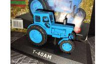 Т-40АМ трактор - синий - №18 с журналом 1:43, масштабная модель, ЛТЗ, Тракторы. История, люди, машины. (Hachette collections), 1/43