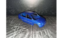 ЛАДА Калина кузов   синий 1:43, запчасти для масштабных моделей, ВАЗ, Bauer/Cararama/Hongwell, 1/43